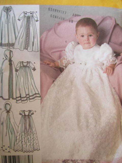SeeSallySew.com - Baby Heirloom Christening Gown Dress