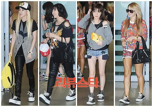 2ne1 airport fashion �� 2ne1 �� pinterest 2ne1