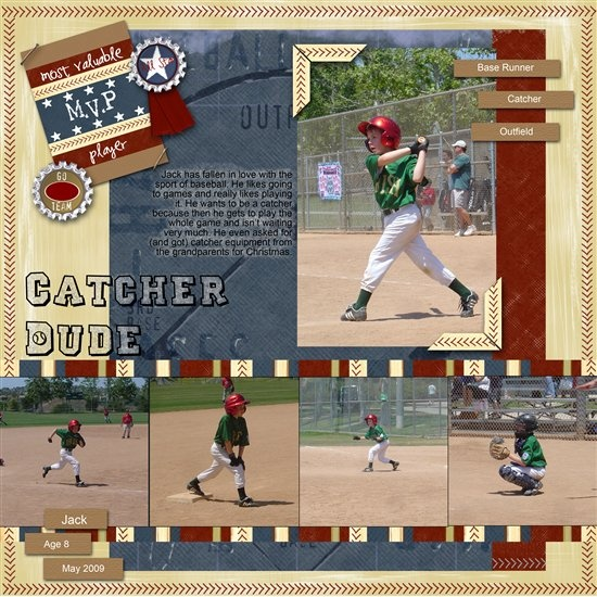 17 Best Images About Sports On Pinterest: 17 Best Images About Softball Scrapbook Layout On