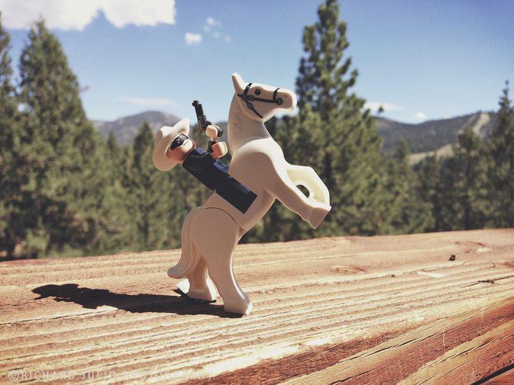 Lone Ranger - Lego macro photography series by Richard Julio Photography