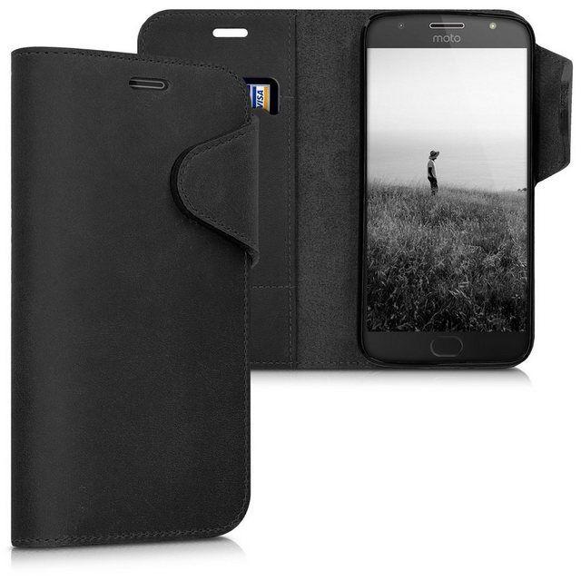 Handyhulle Hulle Fur Motorola Moto G5s Plus Leder Schutzhulle Handy Wallet Case Cover Leder Schutzhulle Und Schwarz