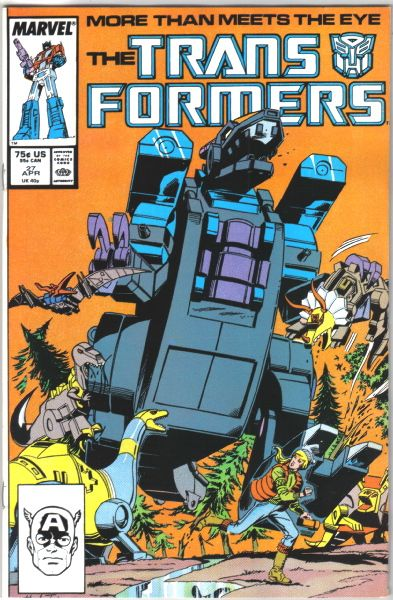 Transformer Comics by Marvel   Details about The Transformers Comic Book #27, Marvel 1987 NEAR MINT