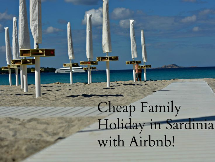Looking for a cheap Family Holiday in Sardinia? Read all about my family of 5 staying in an Airbnb flat right on the beach!