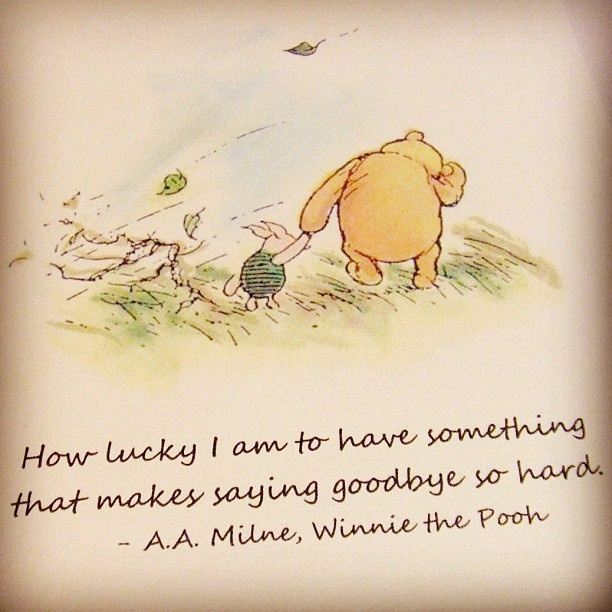 Pooh Quote About Saying Goodbye: Best 25+ Miss You Already Quotes Ideas On Pinterest