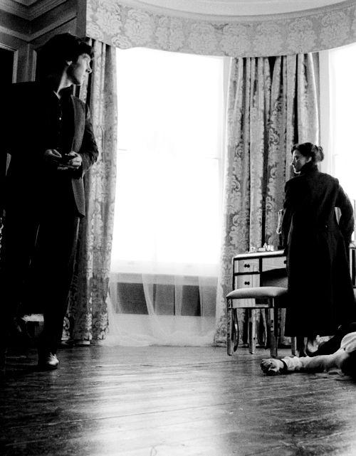 Sherlock Holmes + Irene Adler