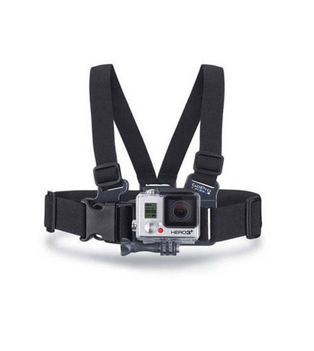 GoPro chest mount harness available for purchase online from Half Moon Outfitters in Charleston, South Carolina.