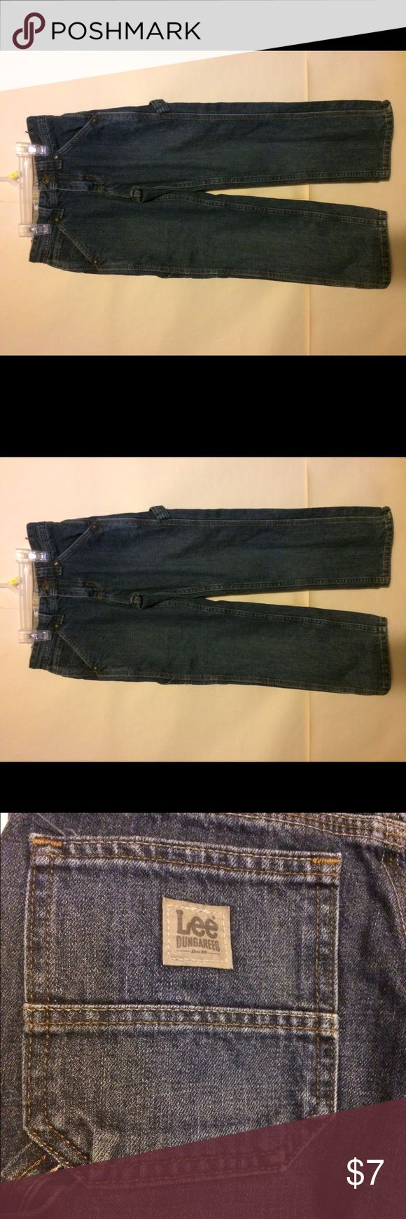 Lee Dungaree Carpenter Jeans Lee Dungaree Carpenter Jeans in great condition. Size 10 with an adjustable waist. Lee Bottoms Jeans