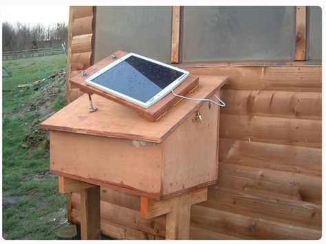 DIY solar-power for the shed or poultry house