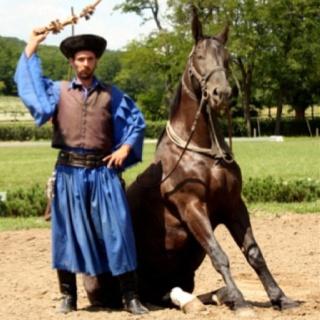 Lajosmizse puszta - Reiterspiele in Ungarn