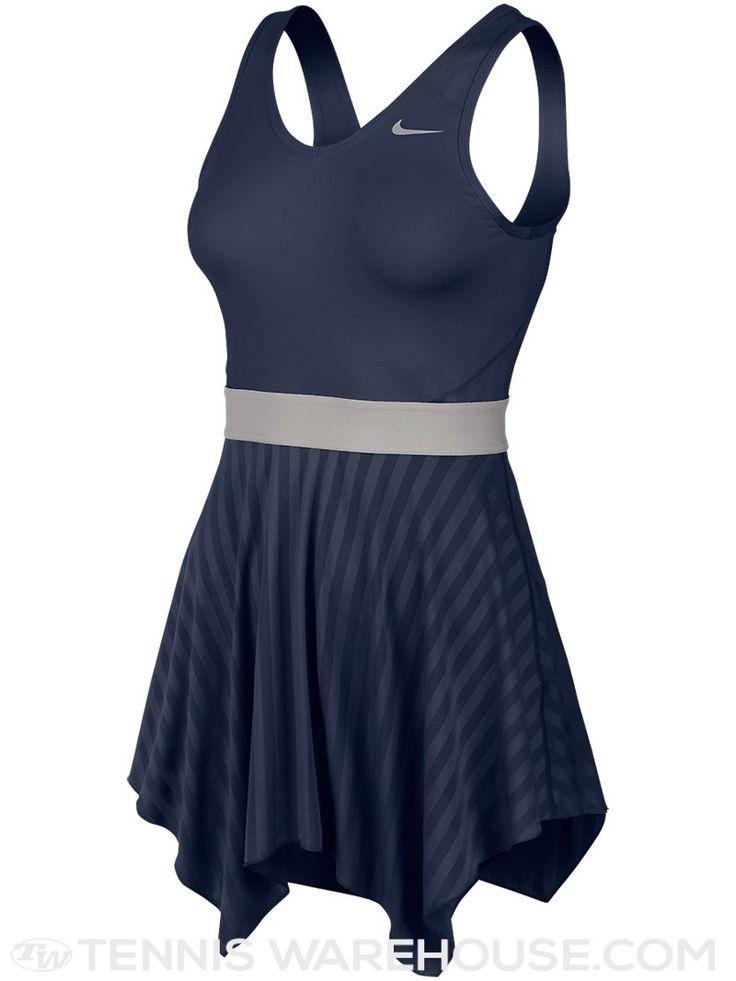 Nike Women's Summer Novelty Knit Dress in Navy