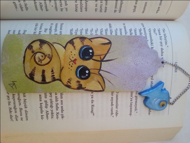 Cat bookmark, handmade bookmarks, book accessories, gift for book lovers, wooden bookmark, bookmarks, custom design markers, cat lover gift by AxiKedi on Etsy