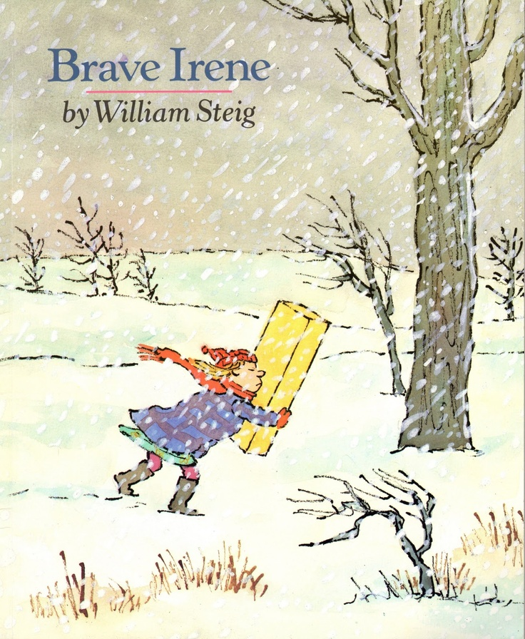 painting box: Brave Irene by William Steig