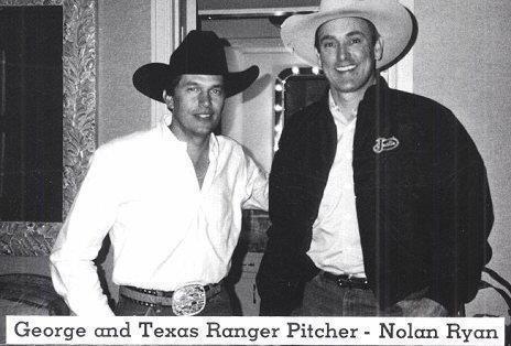 Two Texas Legends-George Strait & Nolan Ryan