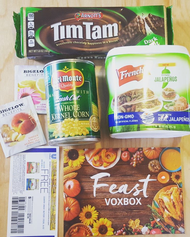Feast vox box from Influenster