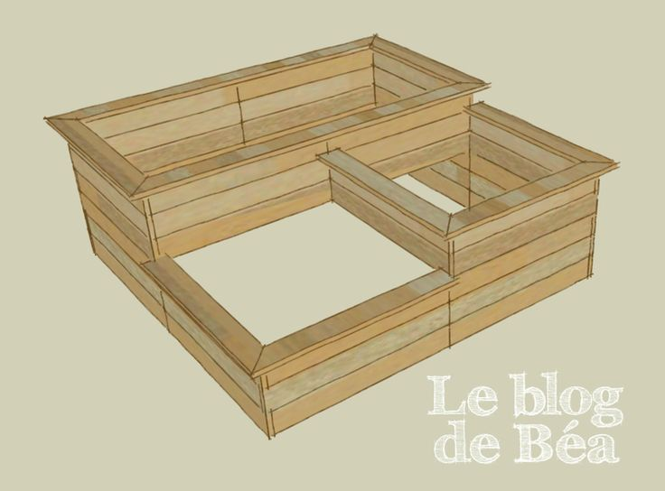 25 best ideas about carre potager en bois on pinterest. Black Bedroom Furniture Sets. Home Design Ideas