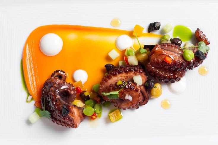 Octopus & Kichererbsen Tomate