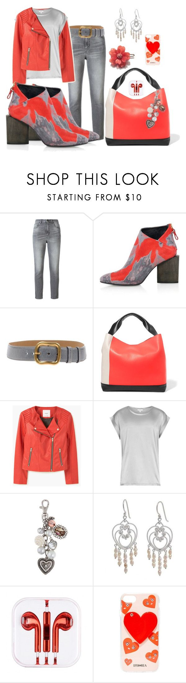 """""""I ❤️ ankle boots. . ."""" by kelli-bailey-ouimet ❤ liked on Polyvore featuring Golden Goose, Kim Kwang, Prada, Marni, MANGO, Reiss, Sandra Magsamen, NOVICA and Iphoria"""