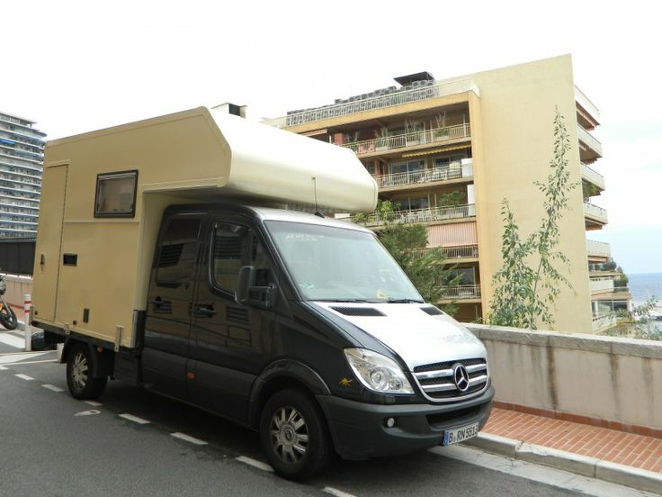 Unique double cab mercedes sprinter camper with for Mercedes benz sprinter chassis motorhomes