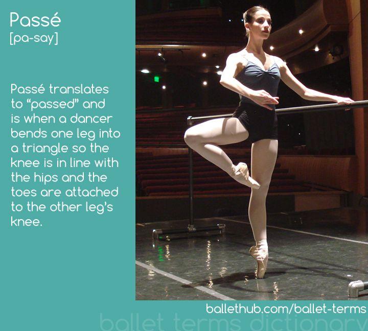 Passé | Caitlin Valentine-Ellis demonstrates passé at the barre | From BalletHub.com #ballet