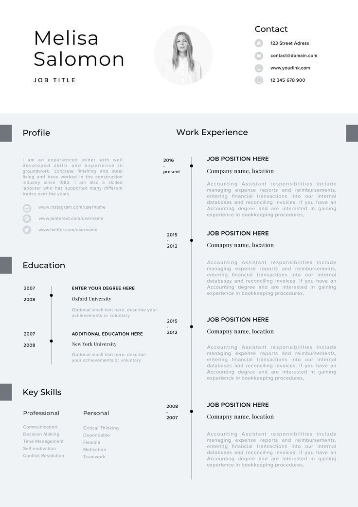 Cv Template Professional Resume Template With Photo Word Etsy Cv Template Cv Template Professional Resume Template Professional