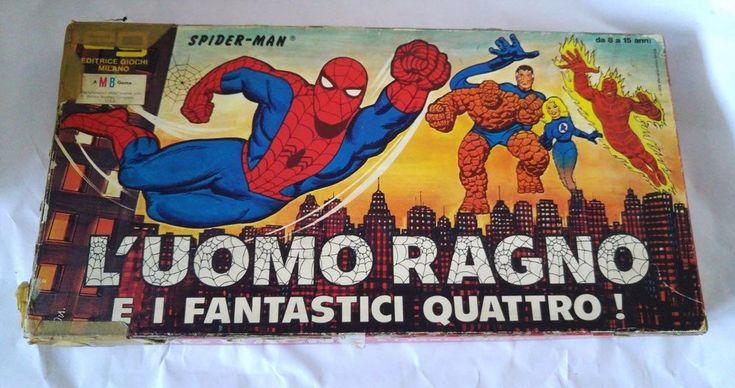 Spider-Man Game L'uomo Ragno e i fantastici quattro 1978 Marvel Comics Group #Marvel