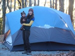 are you going to be camping with a baby???
