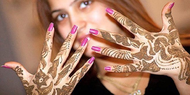 Party Mehndi Designs For Girls 2017