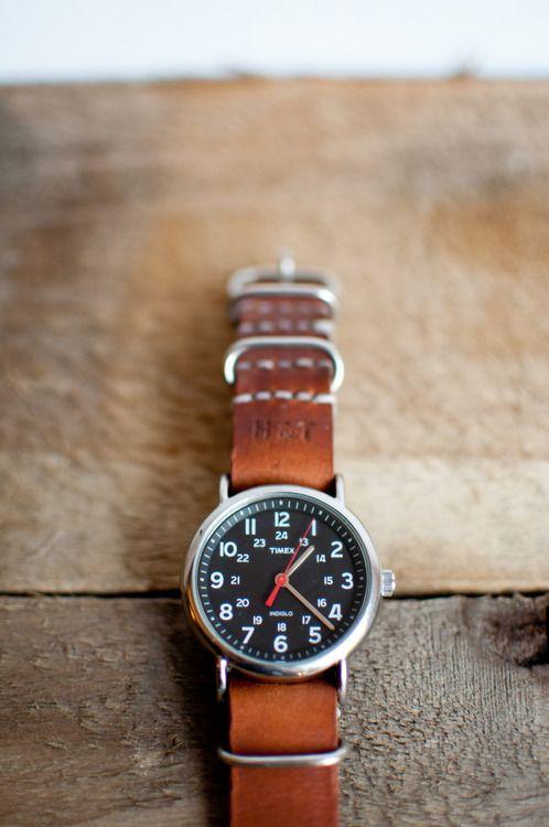 Hide & True standard watch band.