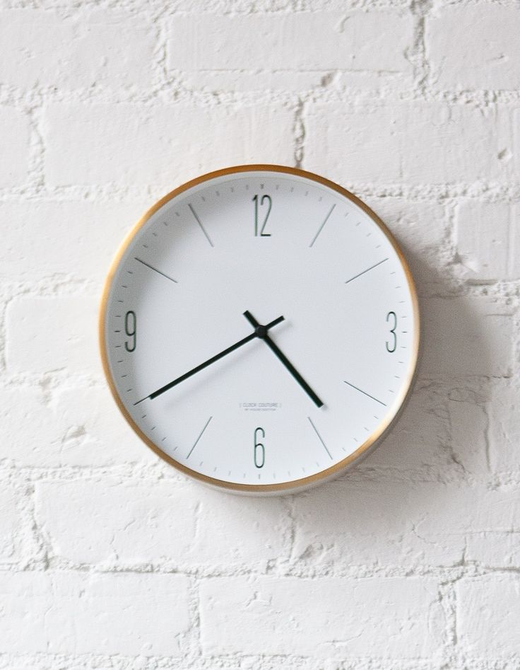 A stylish danish Wall Clock for sophisticated interiors. Nordic Scandinavian Style. So simple, so gorgeous!