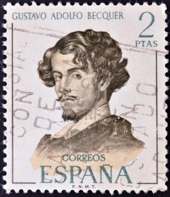 Gustavo Adolfo Becquer, circa 1970 (Spain)