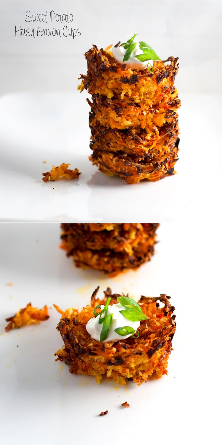 sweet potato hash brown cups - baked in a muffin tray and yummy warm or wrapped for a lunchbox