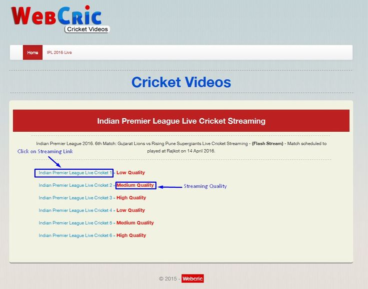 Best FREE Live Cricket Streaming Sites & Platforms – 2017 Update