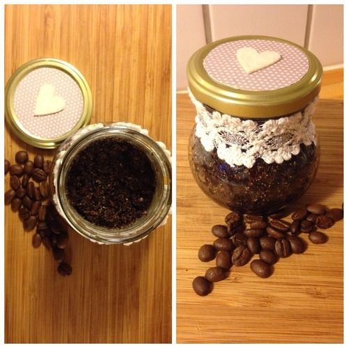 Three-ingredient body scrub! A perfect gift, or why not make it just for yourself. You wont believe how easy it is!