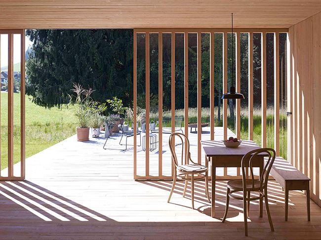 Austrian Contemporary Barn by Bernardo Bader Architects | Featured on Sharedesign.com