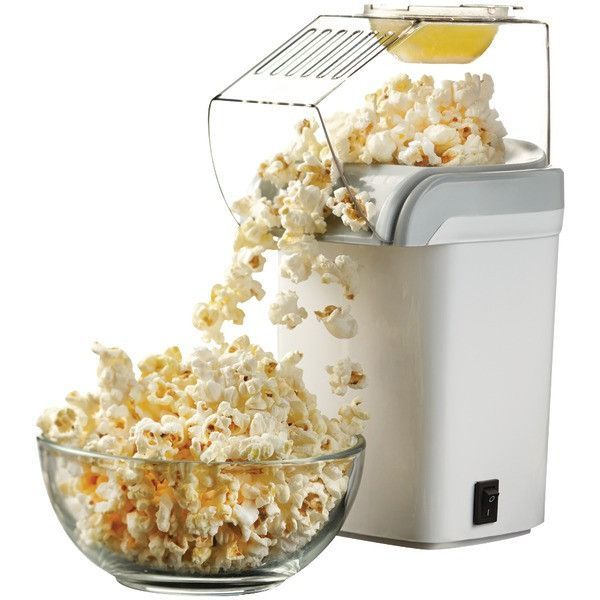 Brentwood Pc-486W Hot Air Popcorn Maker (red, white, or gray/silver