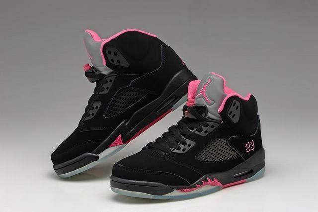 meilleur site web 97850 2e3fb basket nike air jordan femme,femme air jordan 5 noir et rose ...