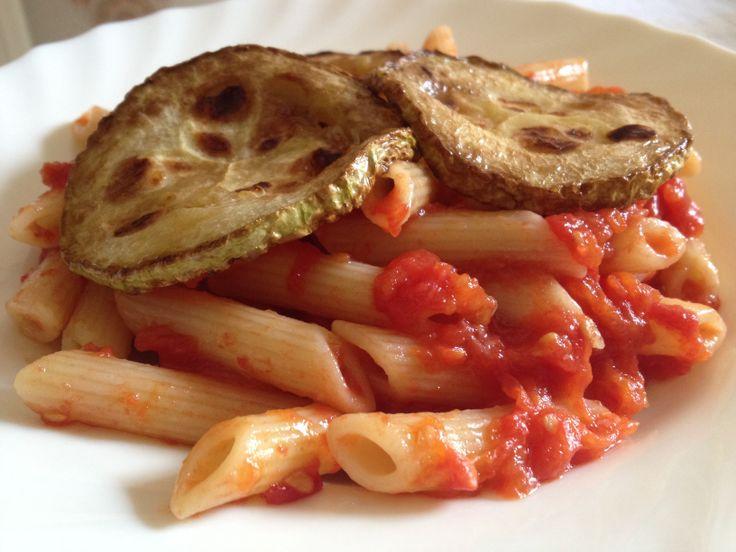 Pasta con #zucchine e #salsa fresca!! #ricetta #ricette #instapic # ...