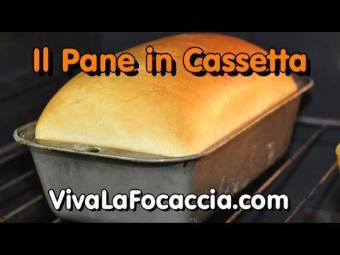 La Video Ricetta del Pane Bianco in Cassetta (Pancarré) vivalafocaccia