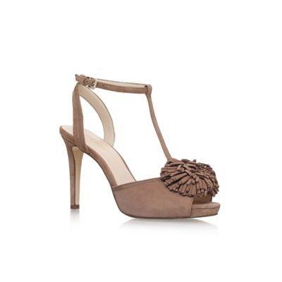 Nine West Brown 'Essen' high heel sandals | Debenhams