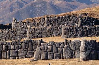The rocks of Sacsayhuaman, Cusco, Peru.