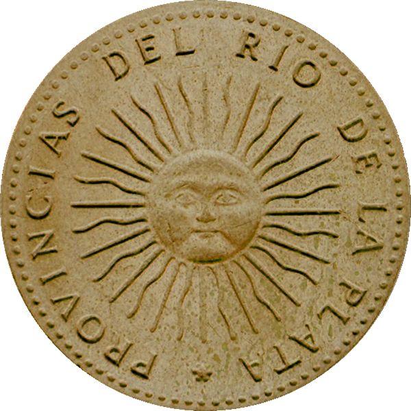 Sol de mayo moneda (Sun of May- money from Argentina)