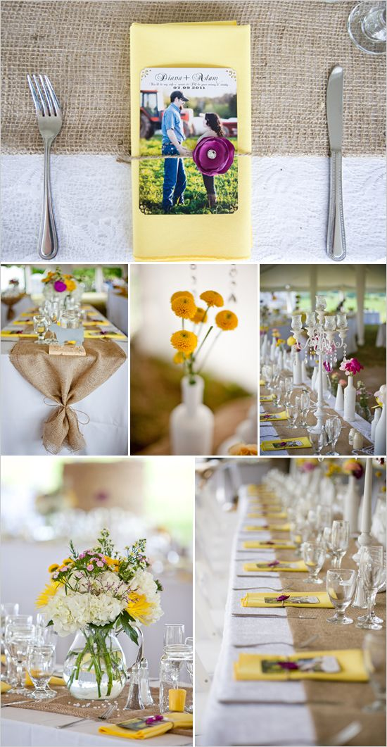 Used Shabby Chic Wedding Decorations : Chic wedding decor runners and shabby