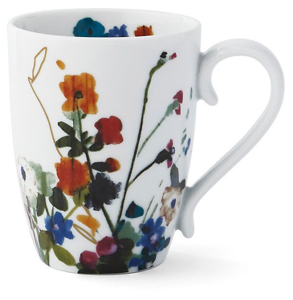 S/4 Padma Wildflower Mugs | A New Mix | One Kings Lane