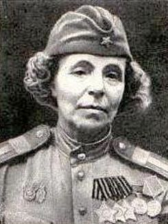 "Nina Pavlovna Petrova, nicknamed ""Mama Nina,"" was born in 1893 and was nearly middle-aged (48) when the war came to Russia. Volunteering for service, she went to sniper school and took 122 enemy soldiers in the course of her duties. Unfortunately, she was killed in a car accident at age 53, just seven days before the end of the war."