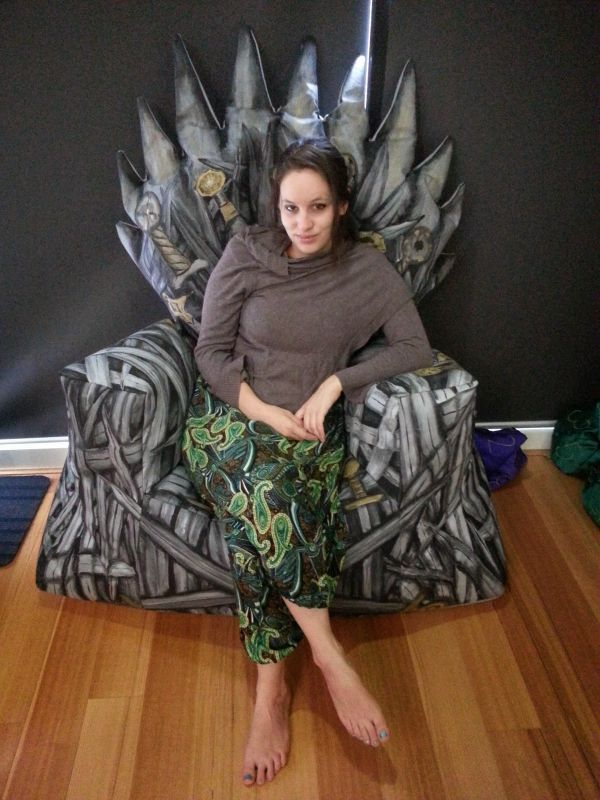 Be The King of Nerderos With This Game of Thrones Bean Bag Chair - Homes and Hues
