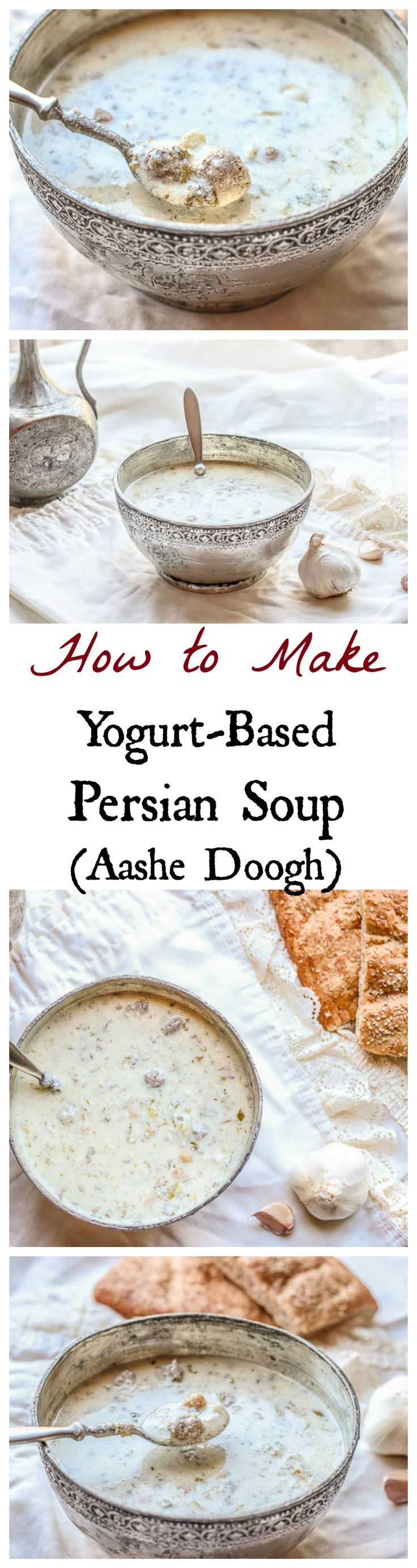 This authentic Azeri Persian comfort soup is SO good and healthy. Easy to make too! #persianfood