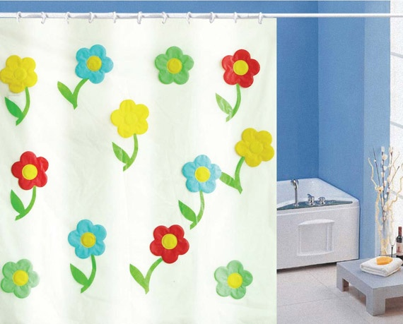 Image detail for -Beautiful Kids Shower Curtains for Children's Bathrooms | Cheap ...