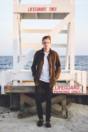 Leon David - Barbour Jacket - LIFEGUARDS ONLY