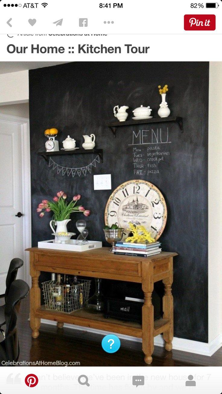 die besten 17 bilder zu wir tafelfarbe auf pinterest tafelw nde f r k che deko tisch und. Black Bedroom Furniture Sets. Home Design Ideas
