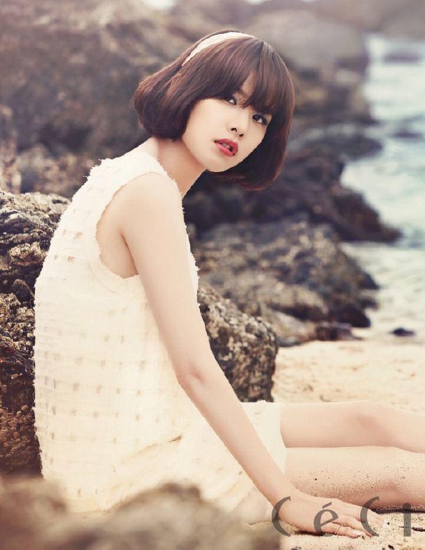 Jo Yoon Hee - Ceci Magazine July Issue '13